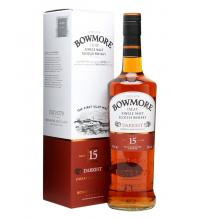 Bowmore 15 Year Old Darkest Single Malt Scotch Whisky - 70cl 43%