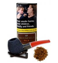 Christmas Gift - Brookfield No. 4 Pipe Tobacco (Black Bourbon) 50g Pouch