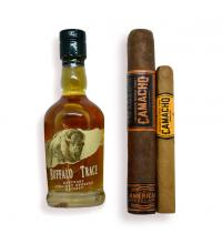 Intro to - Buffalo Trace Kentucky Bourbon and Camacho Cigars Pairing Sampler