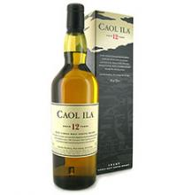 Caol Ila 12 Year Islay Old Single Malt Whisky - 20cl 43%