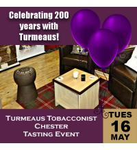 Turmeaus Tobacconist Chester Tasting Evening 16/05/17