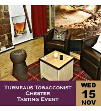Turmeaus Tobacconist Chester Tasting Event 15/11/17