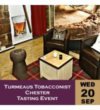 Turmeaus Tobacconist Chester Tasting Event 20/09/17