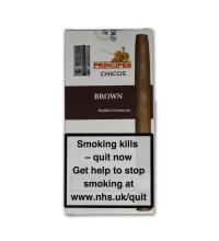 La Aurora Principe Chicos Brown Cigars - Pack of 5