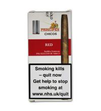 La Aurora Principe Chicos Red Cigars - Pack of 5