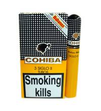 Cohiba Siglo II Tubed Cigar - Pack of 3