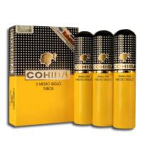 Cohiba Medio Siglo Tubed Cigar - Pack of 3