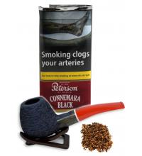 Peterson Connemara Black Pipe Tobacco - 040g (Pouch)