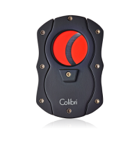 Colibri Coloured Blades Cigar Cutter - Red