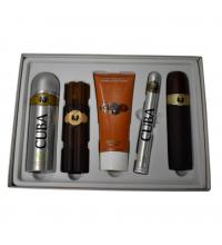 Cuba Must Have MenÂ's Cigar Style Aftershave Gold Eau De Toilette Gift Set