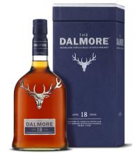 Dalmore 18 Year Old Single Malt Scotch Whisky - 70cl 43%