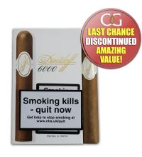 Davidoff 6000 Robusto Cigar - Pack of 4 (End of Line)