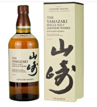 Suntory Yamazaki Distillers Reserve New Packaging Single Malt Whisky 70cl 43%
