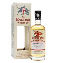 English Whisky Company Chapter 7 Rum Finish - includes FREE HIP FLASK