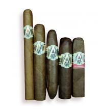 Exclusive - AVO Mixed Selection Sampler - 5 Cigars