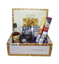 """Happy Birthday"" Cigars, Whisky and Aftershave Gift Box Sampler"