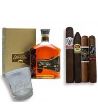 Exclusive - Luxury Nicaraguan Cigar and Flor de Cana Rum Pairing Set