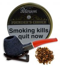 Peterson Founders Choice Cube Cut Pipe Tobacco  - 100g (Tin)