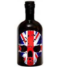 Ghost Vodka Union Jack Skull Bottle - 70cl 40%