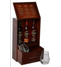 Glenfiddich Family Distillers - 3 x 10cl Pack with 2 Glasses