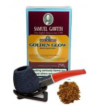 Samuel Gawith Golden Glow Broken Flake Pipe Tobacco 250g Box