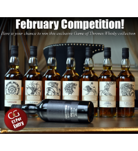 February Entry - Game of Thrones Whisky Collection - 8 x 70cl Prize