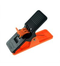 Cigar Minder 4 Clip Holder - Black and Orange