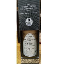 Hepburns Choice Auchroisk 6 Year Old - 20cl 46%