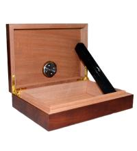 Angelo Mini Desk Top Humidor - 10 Cigar Capacity