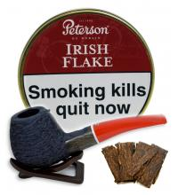Peterson Irish Flake Pipe Tobacco 050g (Tin)