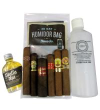 James's Winter Sampler - 6 Cigars and a Dram