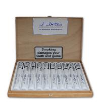 J. Cortes White Dominican Tubed Corona Cigar - Box of 10