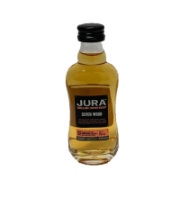Isle of Jura Seven Wood Single Malt Scotch Whisky Miniature - 5cl 42%