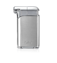 Colibri Pacific Air Single Soft Flame Lighter - Chrome