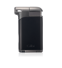 Colibri Pacific Air Single Soft Flame Lighter - Black & Gunmetal