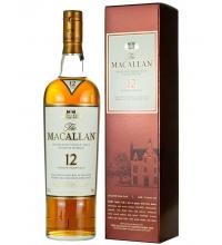 Macallan 12 Year Old Sherry Oak Single Malt Scotch Whisky - 70cl 40%
