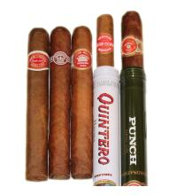 Medium Flavour Cuban Petit Corona Sampler – 5 Cigars