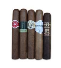Medium Bodied Robustos Sampler - 5 Cigars
