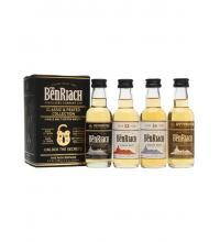 BenRiach Classic & Peated Collection - 4 x 5cl Miniature Gift Pack