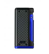 Colibri Monza III - Triple Jet Lighter - Black and Blue (End of Line)