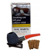 Mac Baren Navy Flake Pipe Tobacco 50g (Pouch)