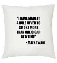 Smoke more than one Cigar at a time - Cigar Themed Cushion