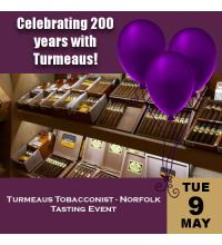 Turmeaus Norfolk Whisky and Cigar Tasting Event - 09/05/17