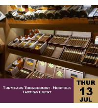 Turmeaus Norfolk Whisky and Cigar Tasting Event - 13/07/17