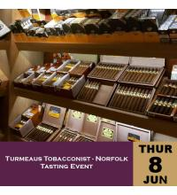 Turmeaus Norfolk Whisky and Cigar Tasting Event - 08/06/17