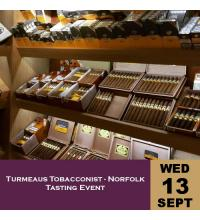 Turmeaus Norfolk Whisky and Cigar Tasting Event - 13/09/17