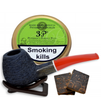 Peterson 3 P's Plug Pipe Tobacco 050g (Tin)