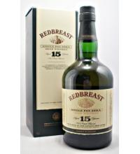 Redbreast 15 Year Old Single Pot Still Irish Whiskey - 70cl 46%