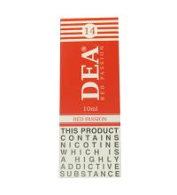 DEA Red Passion Vape E- Liquid 10ml 14mg