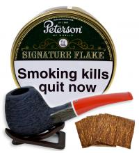 Peterson Signature Flake Pipe Tobacco - 100g (Tin)